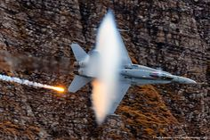 Swiss AirForce F/A-18 making a low pass at AXALP-2012 by Vasiliy Kuznetsov on 500px
