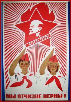 Soviet Propaganda Poster  http://simonsayssigns.tumblr.com/