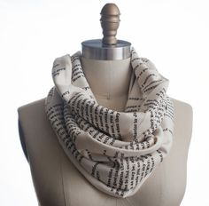 Pride and Prejudice Book Scarf | $42 You can buy this for me if you want to :D