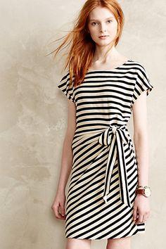 yael striped dress #anthrofave