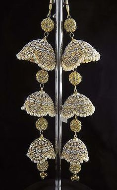 Bridal and Wedding Party Jewelry 164310: 17 Bollywood Indian Kaleera Set Gold Plated Ethnic Crystal Stone Fashion Jewelry -> BUY IT NOW ONLY: $54 on eBay!