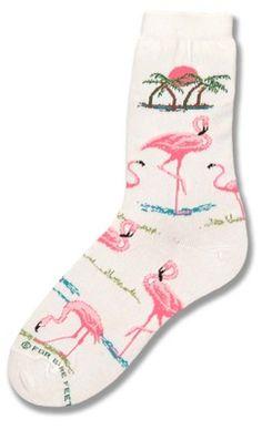 Flamingo Sunset Sock