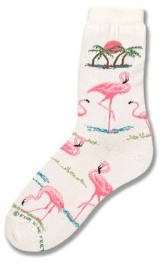 Flamingo Sunset Sock