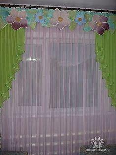 (61) Одноклассники Luxury Curtains, Lace Curtains, Window Curtains, Drapery, Rideaux Design, Crochet Decoration, Curtain Designs, Dream Decor, Crochet Designs