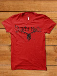 Anime Death Note Tribute T-Shirt