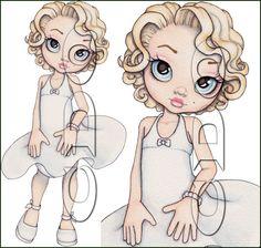 Marilyn Monroe by Caron Vinson