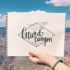 grand canyon // ig: @meshellg12art // pinterest: @meshellg12