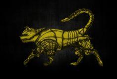 gold cat armour