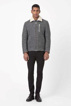 COS | Melange flight jacket