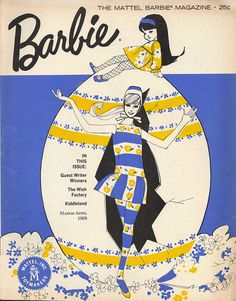 Vintage Barbie illustration <3