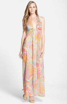 Trina Turk 'Biscayne' Print Jersey Maxi Dress available at #Nordstrom