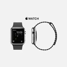 the apple watch i'm craving. Apple News, Stainless Steel Case, Apple Watch, Smart Watch, Black Leather, Watches, Sunglasses, Nice, Check