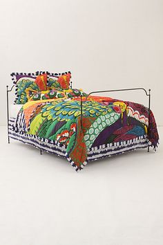 love the pattern on this anthropologie quilt!