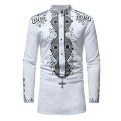 African Fashion Stand Color Dashiki Style Slim Mens Shirt We Offer Top Good Quality Cheap Clothes For Women And Men Clothing Wholesaler, Get Affordable Clothing At Worldwide. African Shirts For Men, African Dresses Men, African Attire For Men, African Clothing For Men, African Wear, African Style, African Clothes, Dashiki Shirt, Dashiki Dress