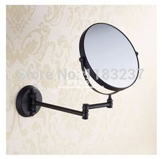 New Free Shipping New Design Antique Brass Black Plated Cosmetic mirror Bathroom Mirror - http://furniturefromchina.net/?product=new-free-shipping-new-design-antique-brass-black-plated-cosmetic-mirror-bathroom-mirror