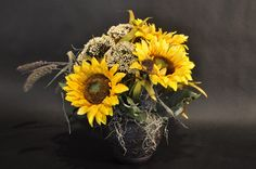 7 best silk flowers by the twisted tulip images on pinterest sunflower arrangement by the twisted tulip denver co thetwistedtulip mightylinksfo