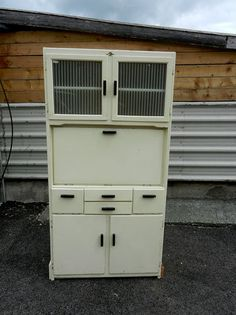 Vintage Kitchen Unit, Cupboard, Larder, Dresser - Hygena - Retro 1950`s | eBay