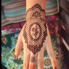 #mehendi #henna #lace #style #design