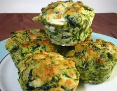 Yummy!  Made these last night to go with a spaghetti bake.  They are dense, but if you like pesto, they are too good!  Let the kids know you may see the spinach, but all you taste is yummy pesto!