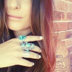 """""""- Weekend jewels xx -"""" http://www.regaliastore.com.au/collections/rings"""