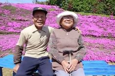 When a loving husband's wife went blind and became depressed he made an extraordinary gesture of love to make her life better.  The incurable romantic , known only as Mr Kuroki, planted a lush carpet of thousands of beautiful-smelling flowers so she could enjoy their garden again.  Mr Kuroki wanted to make his beloved smile after she lost her eyesight aged 52.  After going blind, she became withdrawn and depressed, often not wanting to leave the house.