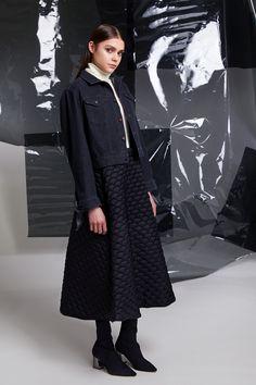 Photographer: Paavo Lehtonen MUAH: Piia Hiltunen Stylist: Shadi Razavi Model: Christina Shevelkova Red Moon, Ribbed Sweater, Light And Shadow, That Look, Normcore, Feminine, Skirts, Sweaters, Jackets