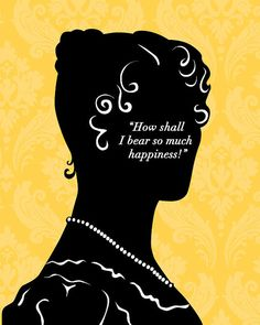 Jane Austen Print  Jane Bennet  on Happiness 8x10 by 10cameliaway, $25.00