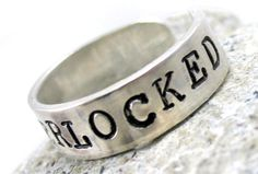 Sherlocked - Sterling Silver Ring