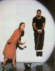Fiona Apple/David Blaine by Denise Grieco (stylist) in Black Book