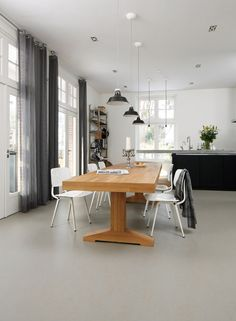Marmoleum floor | available at Interiors and Textiles in Mountain View, CA | http://www.interiorstextiles.com/
