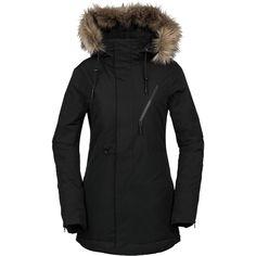174f663b69 Volcom - Fawn Insulated Jacket - Women's - Black Veste De Ski, Tenues  Décontractées,