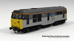 British Rail Class 31 Diesel Locomotive | Flickr - Photo Sharing!