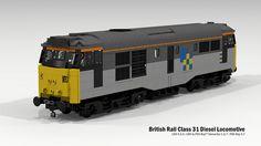 British Rail Class 31 Diesel Locomotive   Flickr - Photo Sharing!