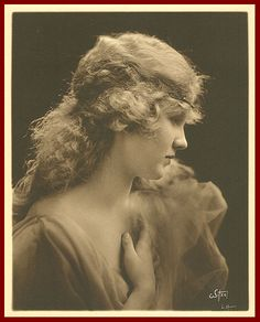 Mary Miles Minter (Anne of Green Gables - 1919) Vintage Publicity Photo by Albert Witzel.