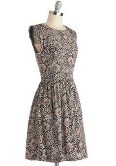 Efflorescent Effect Dress, #ModCloth