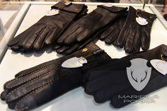 Mariela Pokka accessories - gloves made of unique reindeer leather - Mariela Pokka - luxury fashion made of reindeer leather Brand Sale, Leather Gloves, Leg Warmers, Luxury Branding, Reindeer, Evening Dresses, Luxury Fashion, Trousers, Dressing