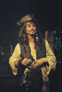 Johnny Depp makes an excellent pirate.