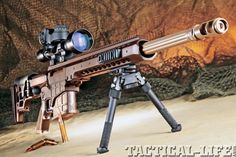 Bad to the bone Lapua .338 mag sniper rifle... love the color of it!