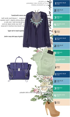 """""""Pantone Spring 2013"""" by just-lala ❤ liked on Polyvore"""