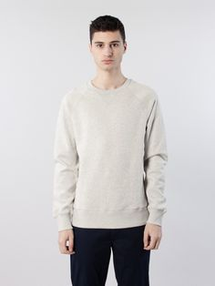 Hector Sweater Off White Mel by Hope SS16