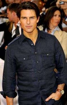 My crush on Tom Cruise still hasn't ended.                                                                                                                                                                                 More