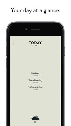 Minimalist Calendar Apps - The New Appointment App from 'Moleskine' Boasts a Sophistical Design (GALLERY)