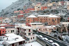 Nevicata a Sarno