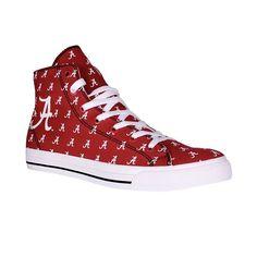 Adult Row One Alabama Crimson Tide Rival Sneakers, Size: 7.5, Multicolor