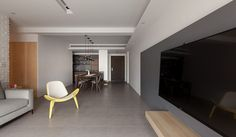 INDOT | THE FAMILY'S INN Casa Clean, Minimalist, Living Room, Mirror, Architecture, Bedroom, Projects, House, Furniture