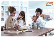 Cuidar la salud de tu familia no tiene precio, Evans® se preocupa también en ellos y te brinda soluciones como son Lámparas UV las cual desinfectan el agua y optimizan el funcionamiento con los Purificadores Evans. http://www.evans.com.mx/Listado_evans.aspx?Familia=64&Categoria=65