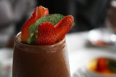 Decadent Raw Chocolate Mousse Recipe with Seasonal Berries