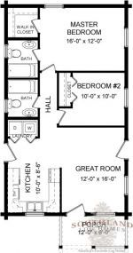 871 sq ft. 2 bed, 2 bath. #tinyhomeplanscabinkit