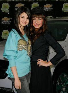 Selena Gomez & Demi Lovato arrive at Chevy Rocks The Future in Burbank.