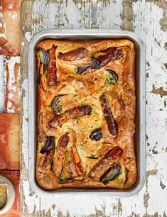 We add an extra bit of sweetness to this classic British recipe with crisp red onions, skin-on sweet potatoes and a creamy mustard gravy Tray Bake Recipes, Sausage Recipes, Meat Recipes, Fall Recipes, Cooking Recipes, Recipies, Curry Dishes, Pork Dishes, Bonfire Night Food